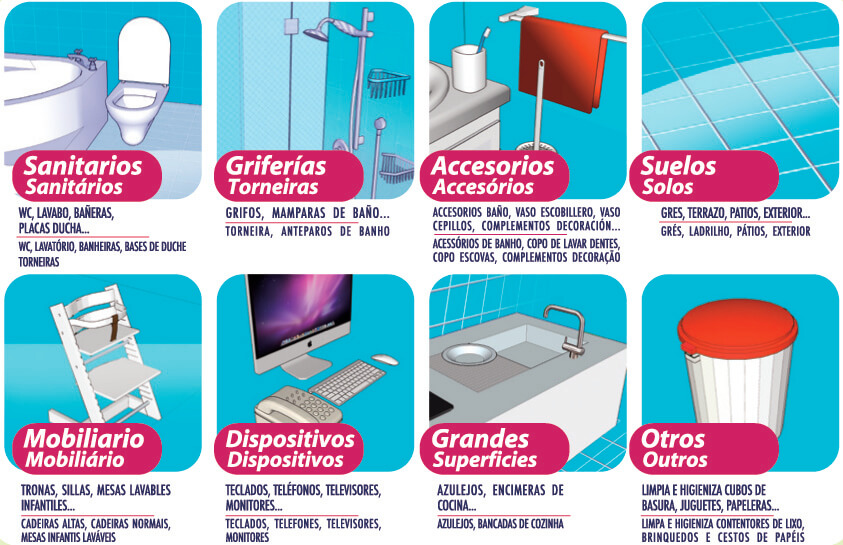 Azulejos Baño Limpieza:LimpiaHogar & Baños Más que limpieza – Agerul